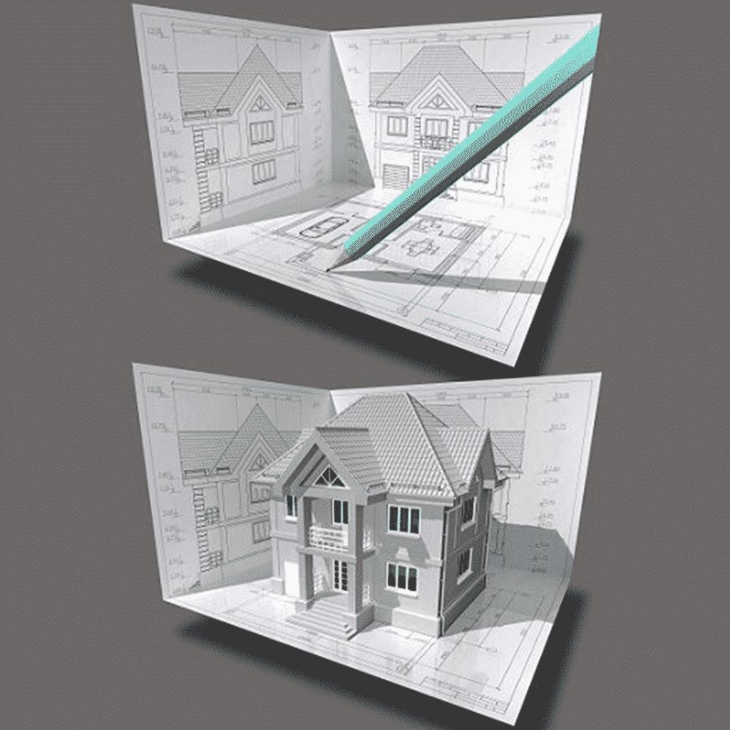 2D Floor Plan Design
