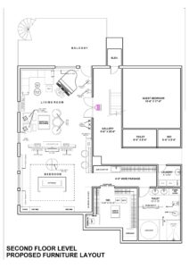 shop drawing services | 3D floor plan