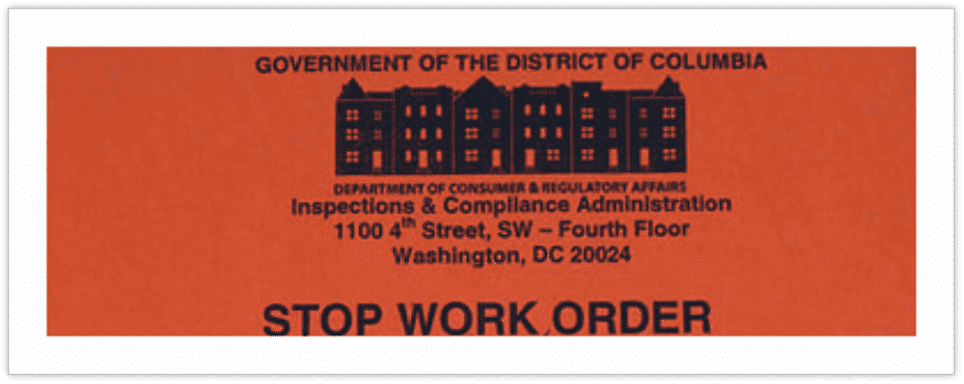 DCRA Permit Expediting Company in Washington DC