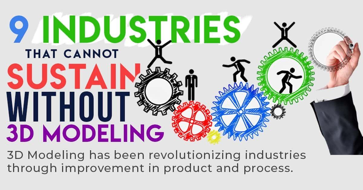 Nine Industries for 3D Modeling Service