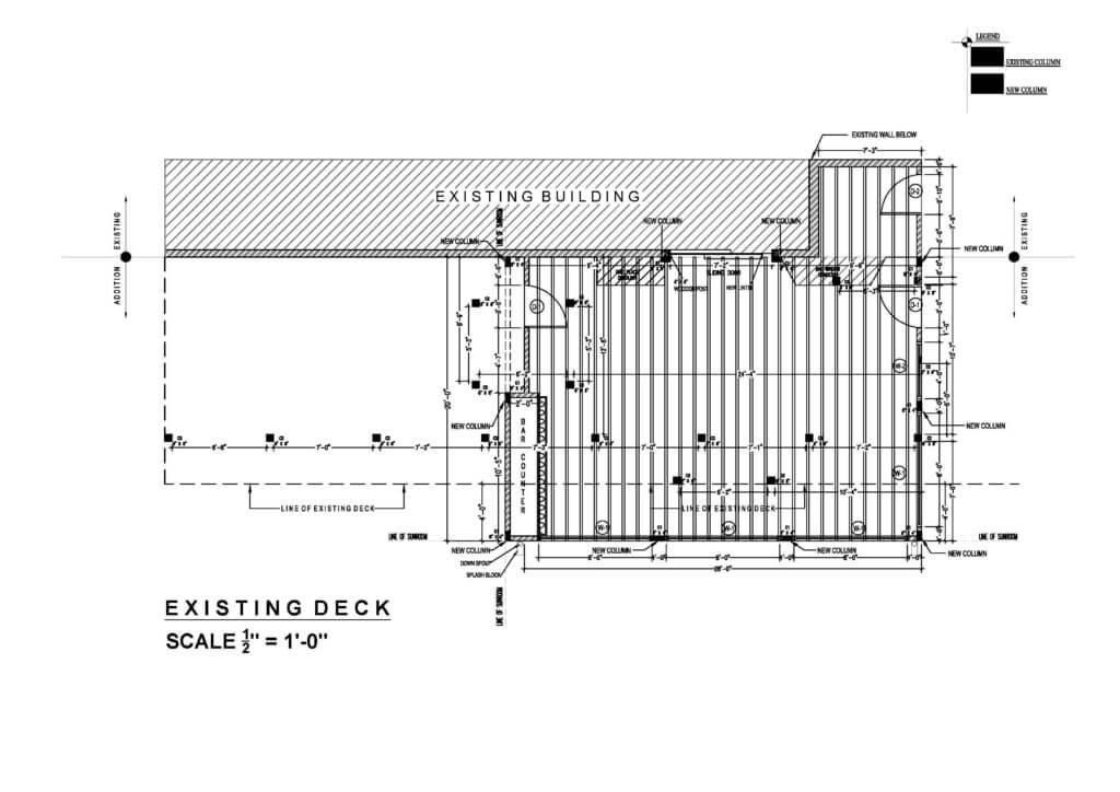 Support of excavation design