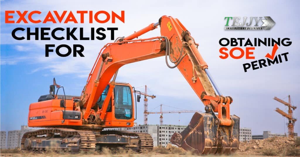 Excavation Checklist for Obtaining SOE Permit