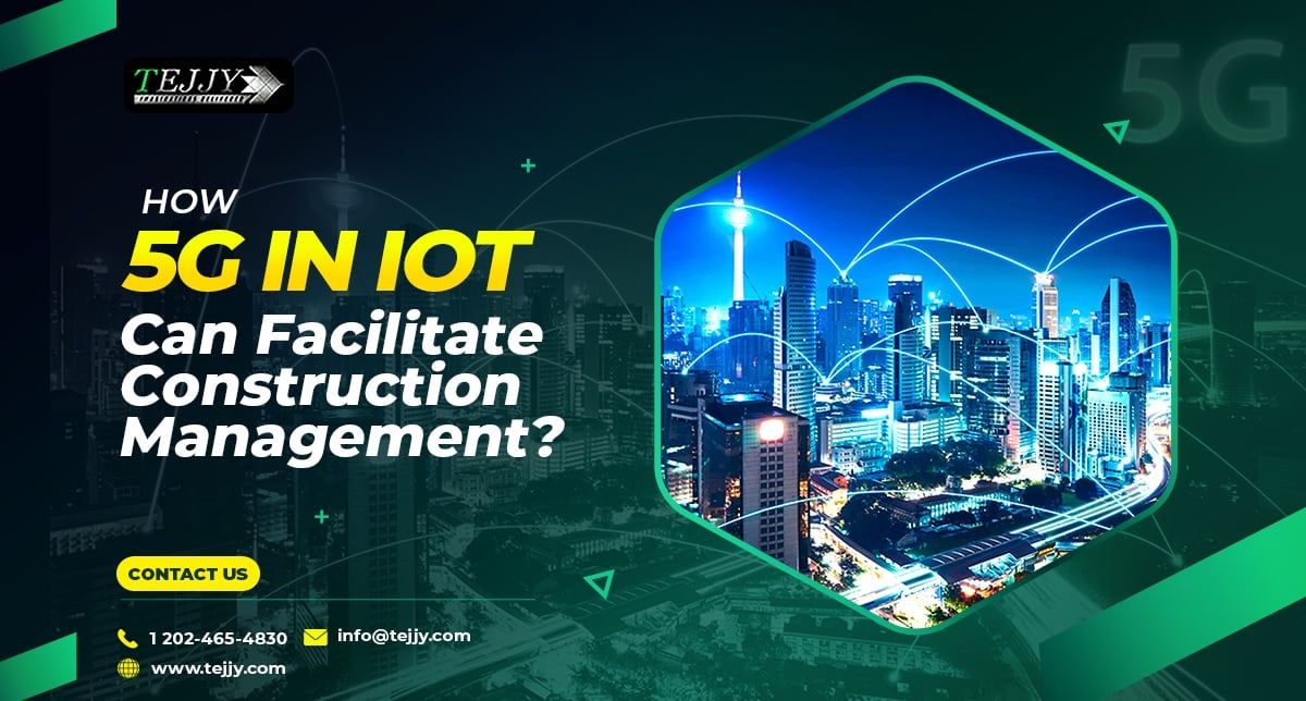 iot in construction management in DC