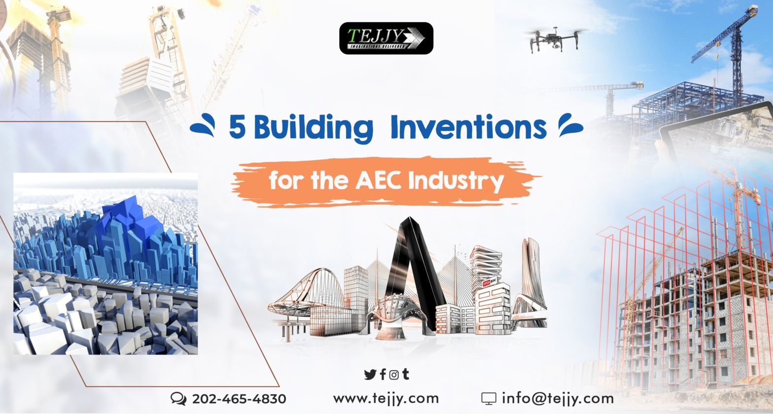 5 Building Inventions for the AEC Industry