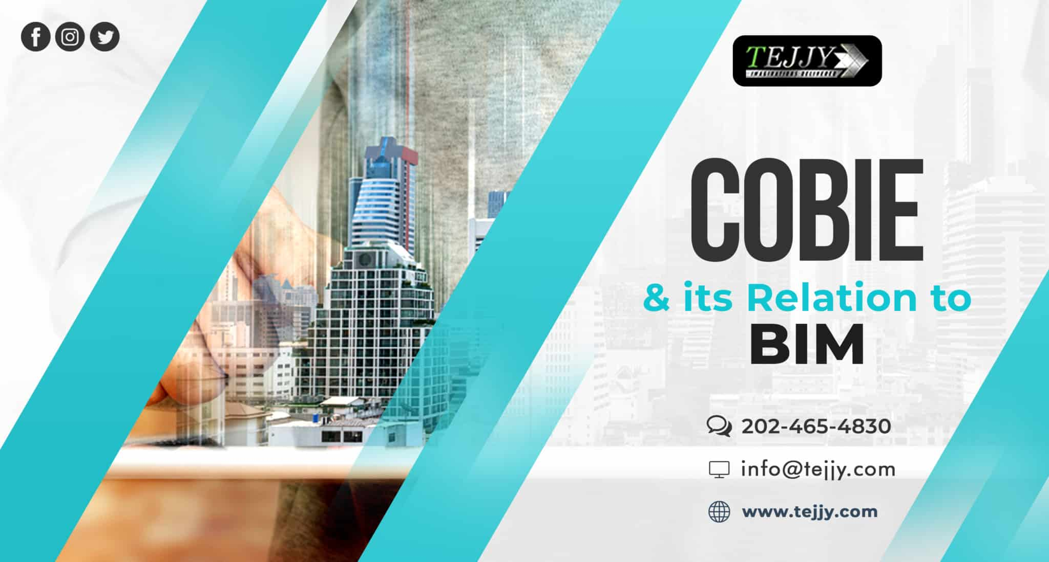 Tejjy Inc. COBie BIM services in usa