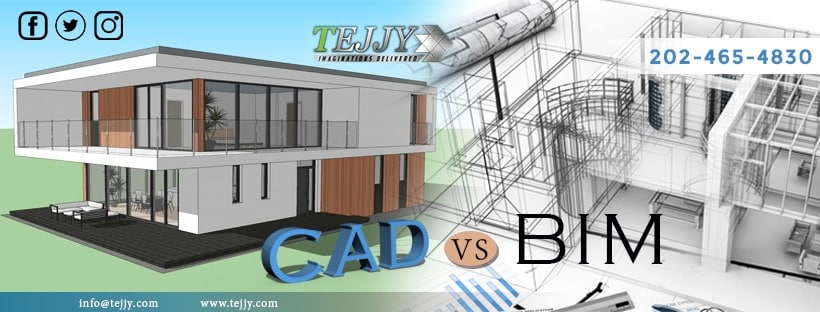 difference between BIM and CAD
