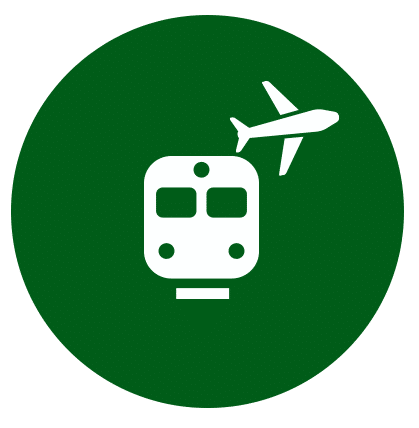 Train Stations & Airport