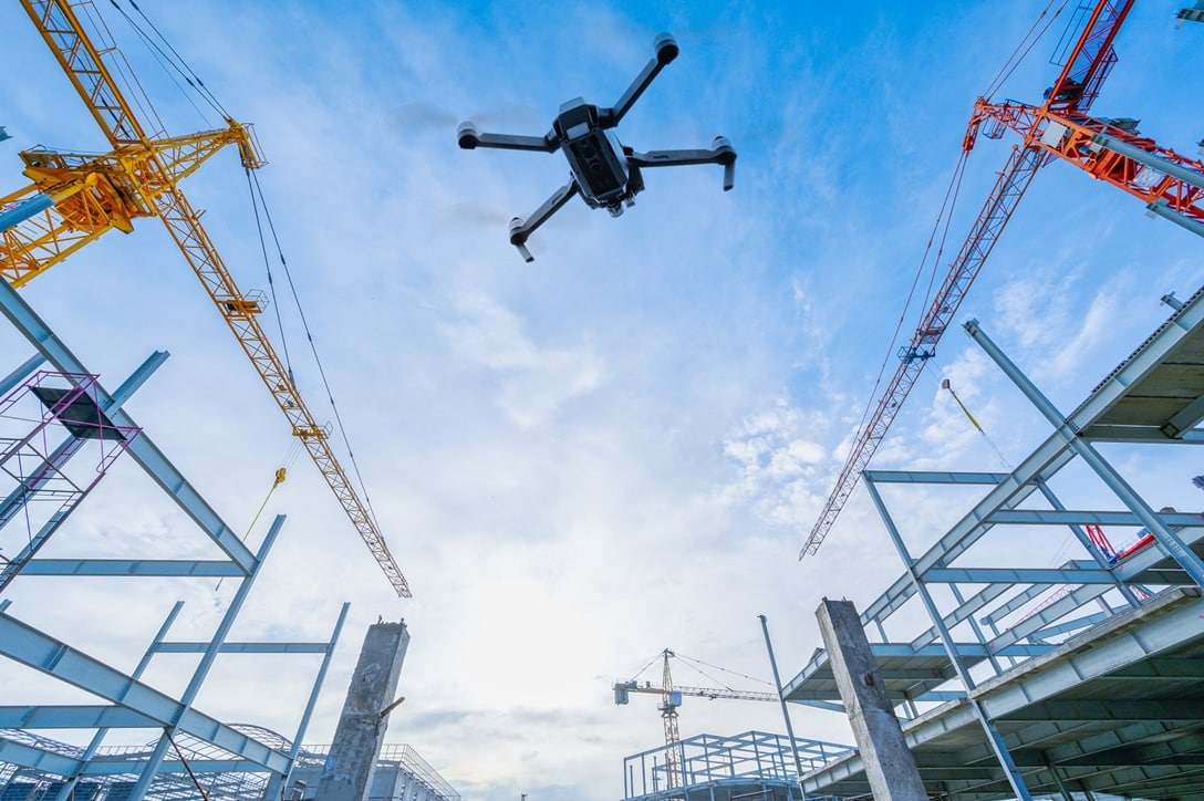 Building with drones Drone architecture design