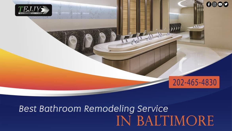 Best Bathroom Remodeling Service in Baltimore | Tejjy Inc.
