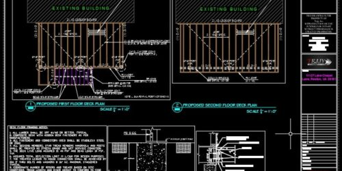 Structural Steel Drawing