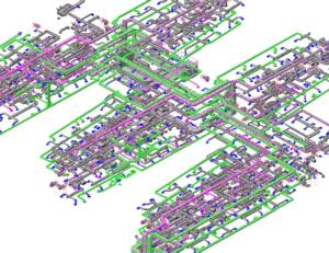 MEP model HHS HVAC-min