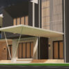 3D architectural BIM model