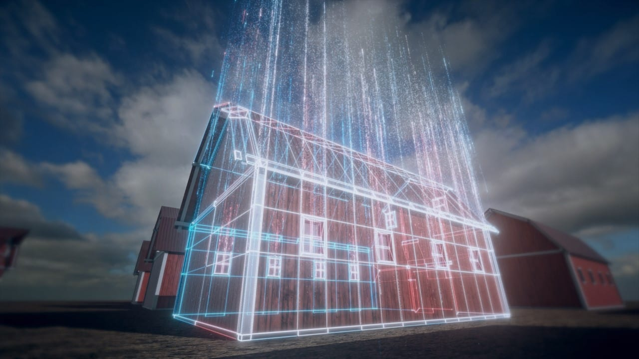 3D Laser Scanning Services - Buildings and Structures